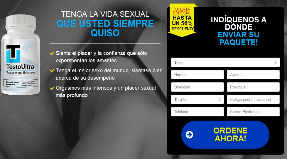 Testo Ultra Farmacias Chile