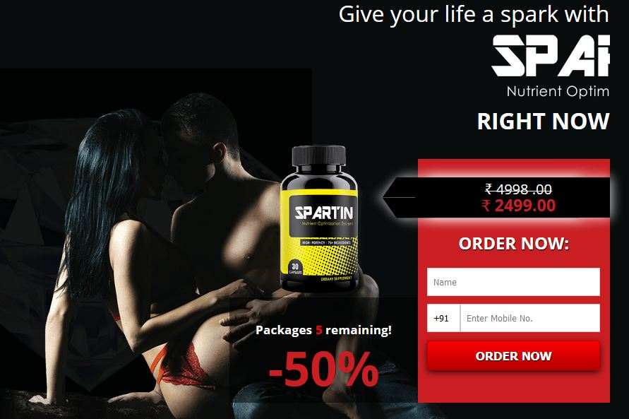 spartin capsule price in india 2019