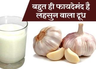 Lahsun Aur Doodh Ke Fayde For Health - healthywellness.in