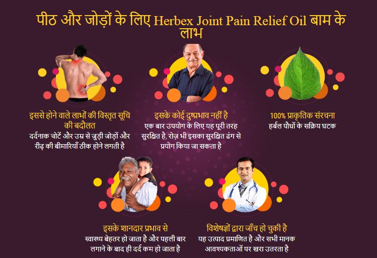 Herbex Joint Pain Relief Oil